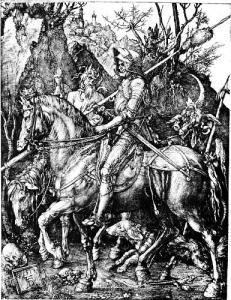 death benefits-duke of edinburgh award-knight-death-and-the-devil-albrecht-duerer